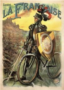 Vintage French advertisment poster - La Francaise